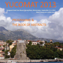 Fifteenth Annual Conference YUCOMAT 2013