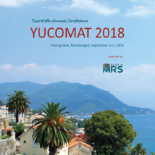 YUCOMAT 2018 - Book of Abstracts