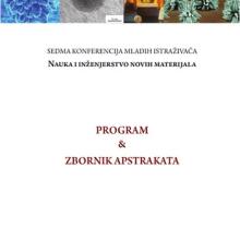 Program i knjiga apstrakata / Sedma konferencija mladih istraživača Nauka i inženjerstvo novih materijala