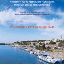 Book of Abstracts - The 13th Young Researchers' Conference Materials Sciences and Engineering