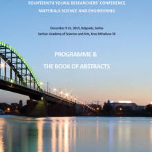 Book of Abstracts - The 14th Young Researchers' Conference Materials Sciences and Engineering