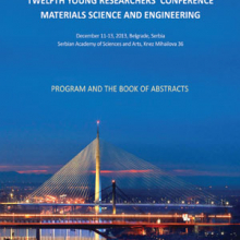 Book of Abstracts - The 12th Young Researchers' Conference Materials Sciences and Engineering