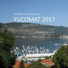 YUCOMAT 2017 - Book of Abstracts
