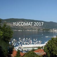 YUCOMAT 2017 - First Announcement and Call for Abstracts