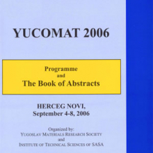 The Eighth Annual Conference YUCOMAT 2006