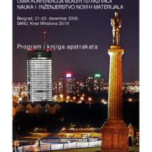 Program i knjiga apstrakata / Osma konferencija mladih istraživača Nauka i inženjerstvo novih materijala