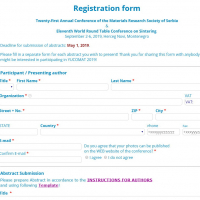 YUCOMAT 2020 - Registration