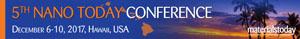 5th Nano Today Conference