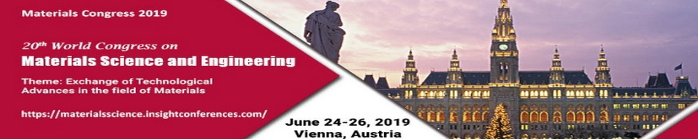 20th World Congress on  Materials Science and Engineering