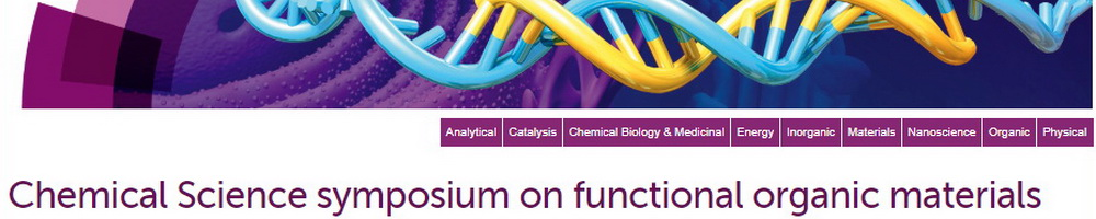 Chemical Science symposium on functional organic materials
