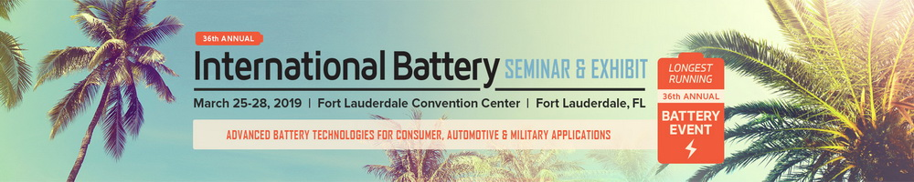36th Annual International Battery Seminar & Exhibit