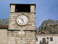 10 Clock Tower in Kotor-Old Town