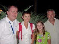 49 Srecko Stopic, Rebeka Rudolf & daughter and Nebojsa Romcevic