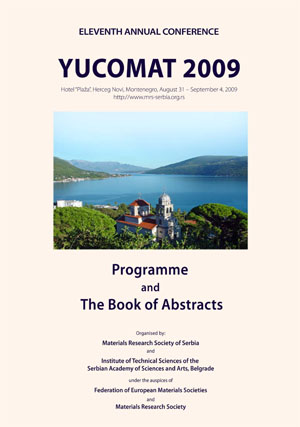 YUCOMAT 2009 Book of Abstracts