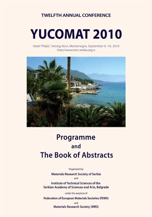 YUCOMAT 2010 Book of Abstracts